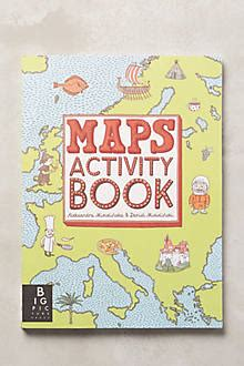 maps activity book maps activity book anthropologie com