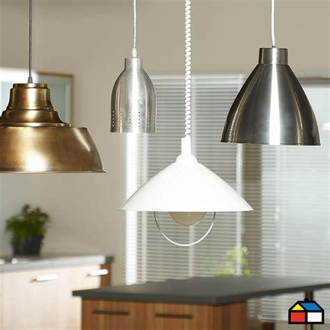 ilumina tu cocina sodimac lamparas cocina pinterest