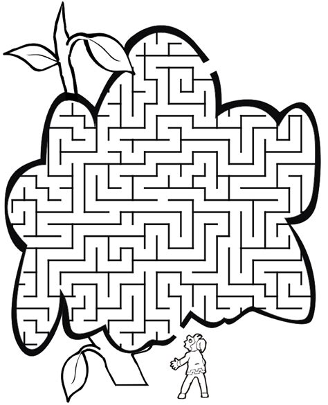 printable maze sheets free mazes for kids coloring pages