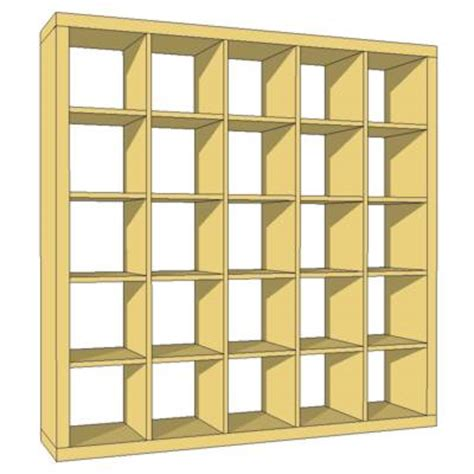 expedit bookcase 3d model formfonts 3d models textures