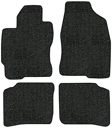 carpet floor mats for toyota prius 2003 2009 toyota prius floor mats 4pc cutpile