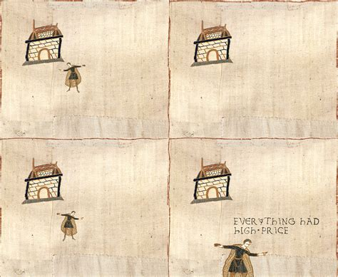 Medieval Tapestry Meme - image 243034 medieval macros bayeux tapestry