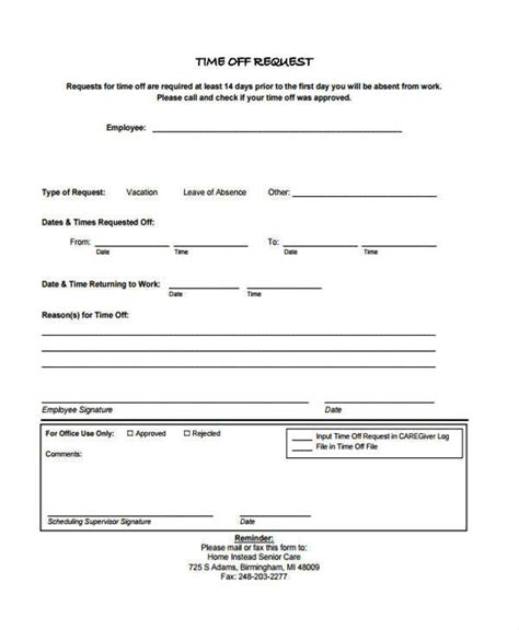 time request form sle request for time form teacheng us
