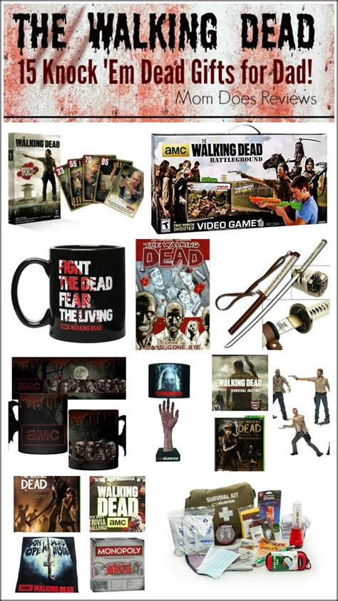 The Walking Dead Gifts - 15 gifts for the walking dead fathersday superdadgifts