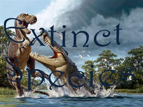 extinct breeds endangered extinct species