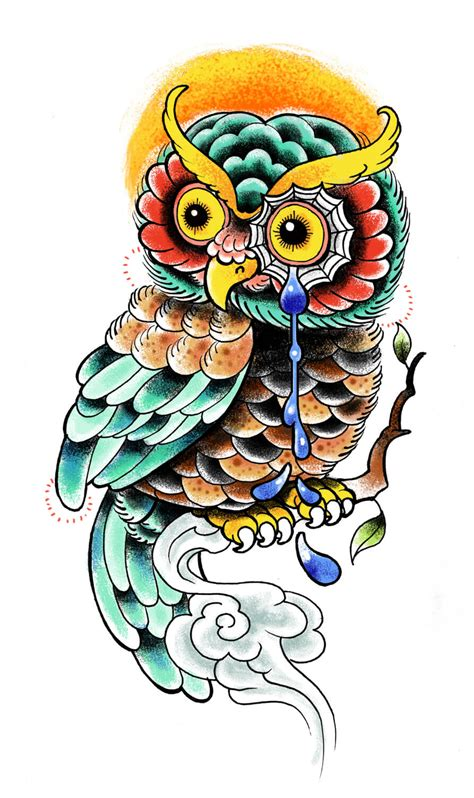 owl tattoo drawing owl designs the is a canvas