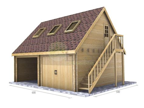 Timber Garages by Log Cabins Residential Buildings And Garden Offices