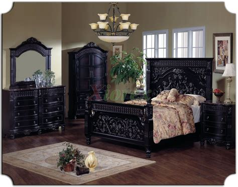 poster bedroom sets poster bedroom furniture set w tall headboard beds 116