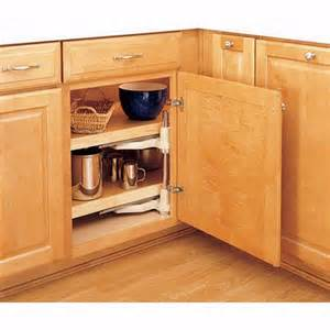Blind Kitchen Cabinet Organizer Blind Corner Half Moon Wood 2 Shelf Lazy Susans Rev A Shelf 4wls Series Rockler Woodworking