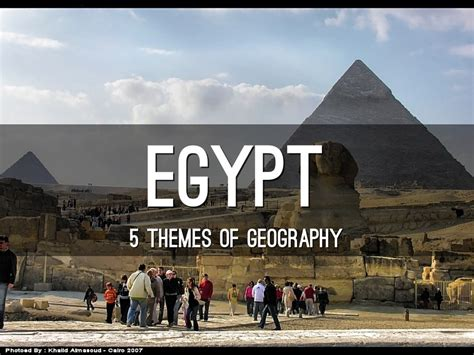 5 themes of geography egypt egypt by hunter erichsen