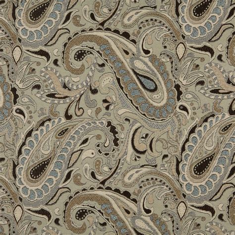 brown and tan solid woven outdoor upholstery fabric by the brown beige blue and tan paisley woven outdoor