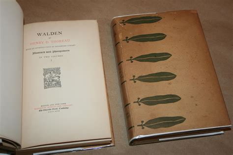walden book henry david thoreau walden by henry david thoreau houghton mifflin boston