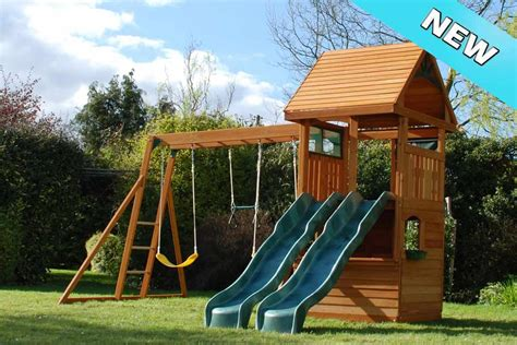 swings and climbing frames climbing frame slides tube double straight slides