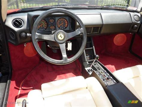 Paint For Home Interior by 1986 Ferrari Testarossa Standard Testarossa Model Interior