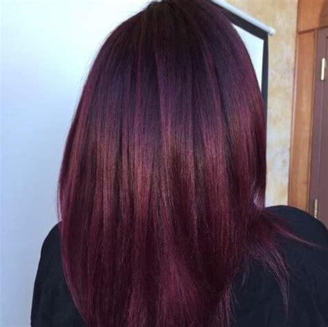 sweet   plum  plum hair color shades ideas