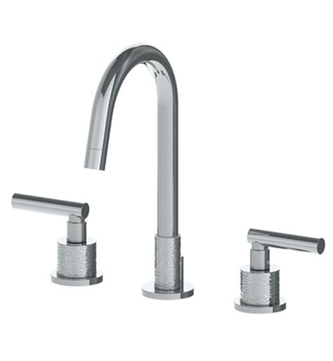 watermark bathroom faucets watermark 27 2 cl14 touch widespread bathroom faucet