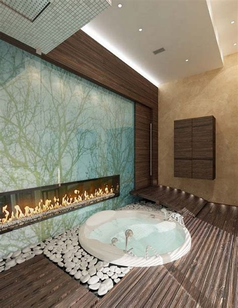 fireplace in bathroom wall luxury bathrooms with fireplaces inspiration and ideas