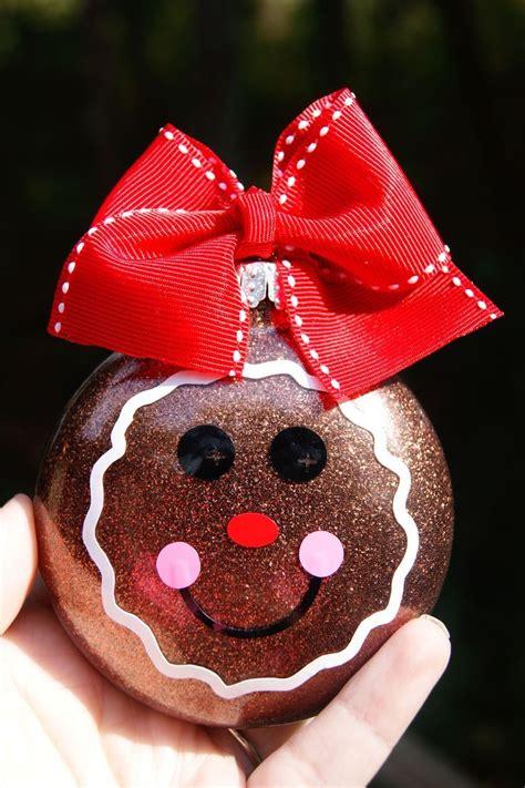 gingerbread ornament christmas crafts pinterest