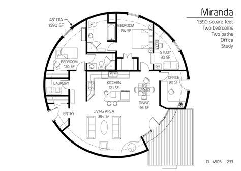monolithic dome floor plans floor plan dl 4505 monolithic dome institute