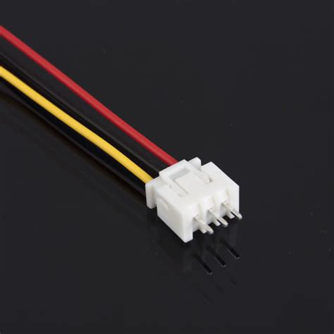 Connector Xh 2 Pin Untuk Kabel 10sets jst xh 2 5 3 pin battery connector with 120mm wire ebay