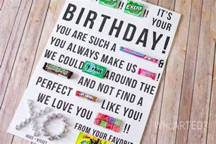 candy birthday card gangcraft net
