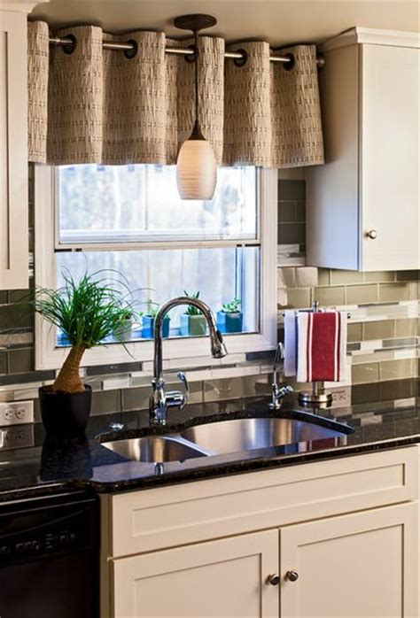 Kitchen Sink Curtain Ideas What A Difference Kitchen Curtains Make Modernize