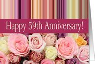 59th Wedding Anniversary Cards from Greeting Card Universe