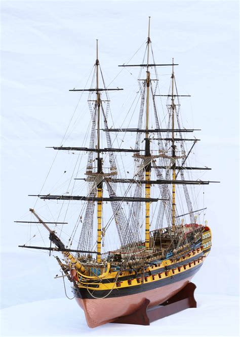 ship of the line ship model hms vanguard a 74 gun ship of the line of 1787