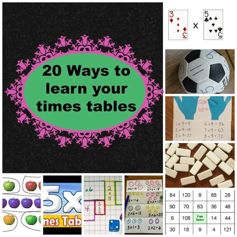 how to teach my child times tables 25 best ideas about learning multiplication tables on