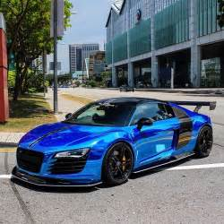 Chrome Blue Audi R8 Chrome Blue Audi R8 On Instagram
