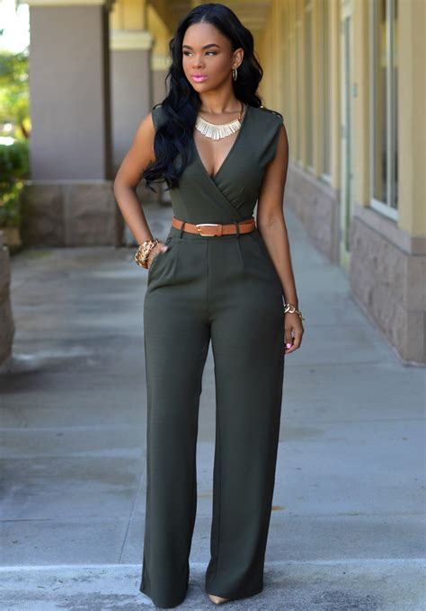 Plain Wide Leg Jumper image result for wide leg jumpsuit fashion and trends