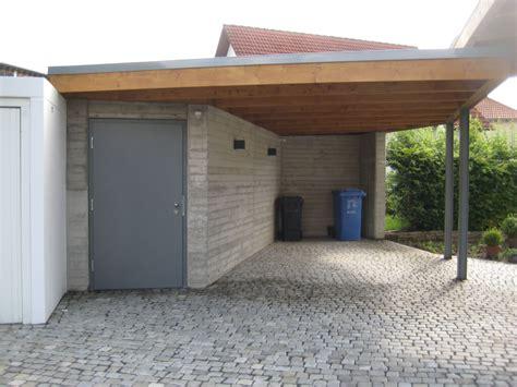 carports mit abstellraum herstellung carport mit abstellraum busch bauunternehmen