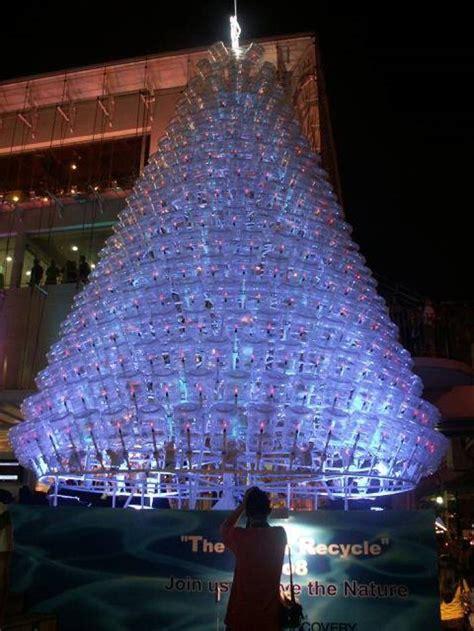 vasos arbol navidad 31 ideas para tu 225 rbol de navidad con materiales reciclados