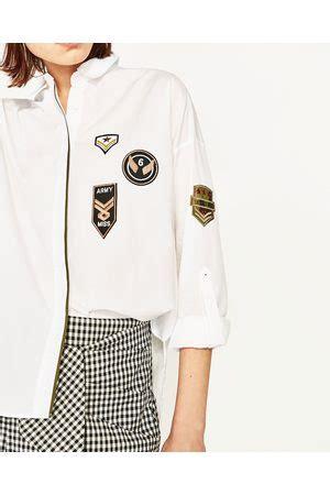 Blouse Zara Best Seller patches blouses kleding nl vergelijk koop