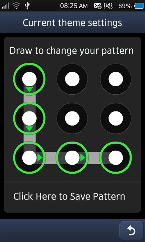pattern lock screen customization pattern lockscreen for samsung bada wave 3 2 1 and wave