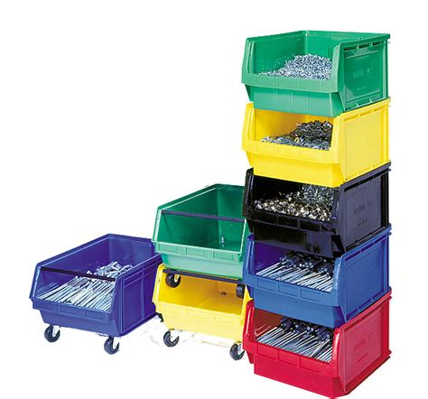 Magnum Garage Storage System New Components Kms Tools Stackable Rectangle Clear Containers With Lids New Mini Stackable Bin Small Parts