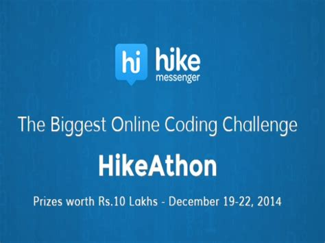 mobile application creator mobile chat application creator to host hikeathon gizbot