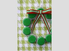Top 10 Upcycled Bottle Cap DIY Christmas Ornaments - Top ... Xmas Ornaments To Make