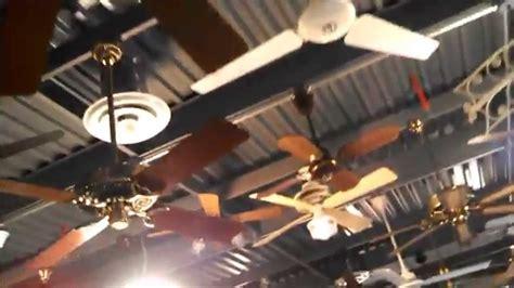 greenwich ceiling fan updated tour of the fanimation fan museum