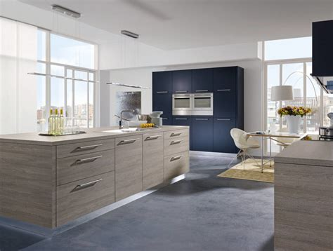 alno kitchens shades of blue contemporary kitchen