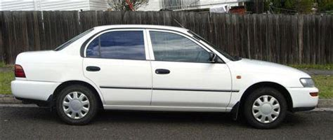1995 Used Toyota Corolla Csi Sedan Car Sales Enmore