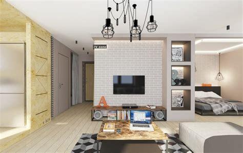 loft schlafzimmer privatsphäre ideen d 233 coration interieur petit appartement