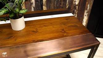 best dining table wood copper top dining table