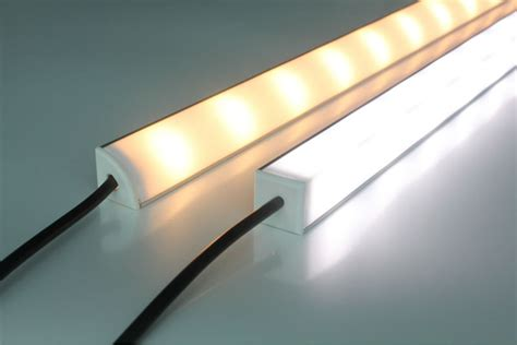 Triangle Aluminum Led Strip Housing With Diffuser Cover Led Light Diffuser