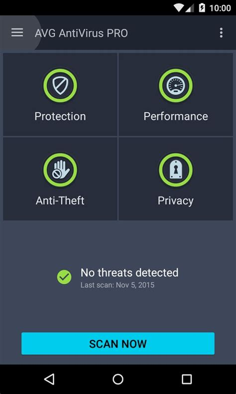 antivirus apk avg antivirus pro apk for android mobitab