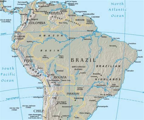map of south america with equator brazil equator map
