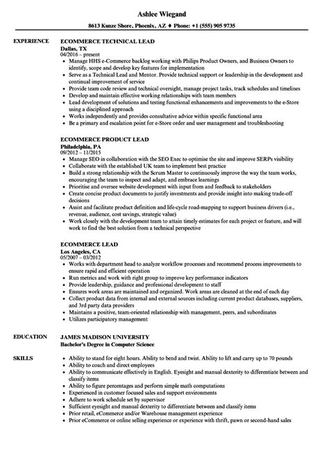Loan Review Analyst Cover Letter by Ecommerce Retail Sle Resume Loan Review Analyst Cover Letter