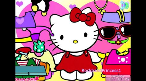 game design your hello kitty dress hello kitty online games hello kitty clothing dress up