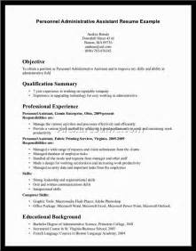 Best Resume For Administrative Assistant by Sle Resume For Nursing Assistant Document