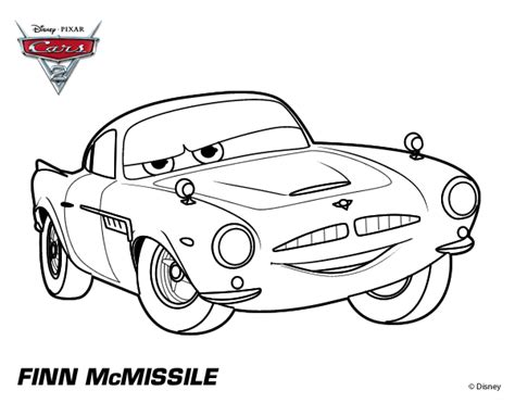 cars 2 coloring pages grem cars 2 coloring pages finn mcmissile sketch coloring page